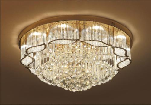Crystal Chandelier Pendant Lamp Fixtures LED
