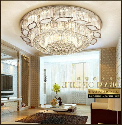 Crystal Ceiling Light Pendant Lamp Lighting Fixtures LED