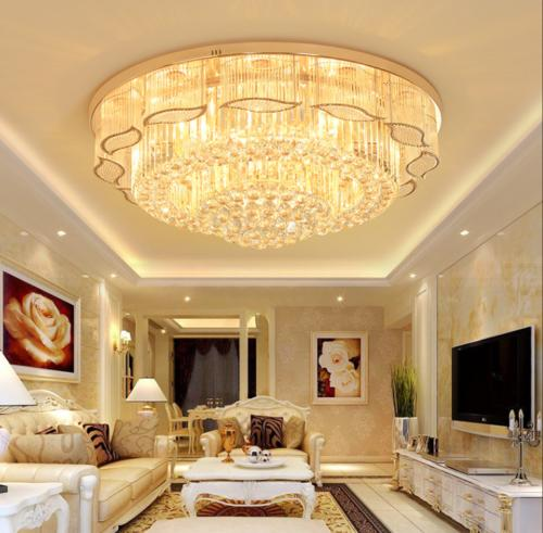 Crystal Chandelier Ceiling Light Pendant Lamp Fixtures LED