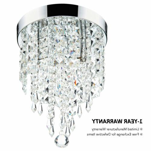 Crystal Ceiling Light Pendant Fixture