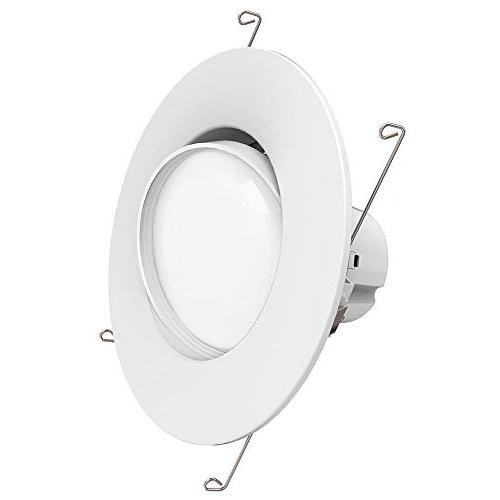 Sunco Lighting 5/6 Inch Directional Gimbal Fixture Recessed