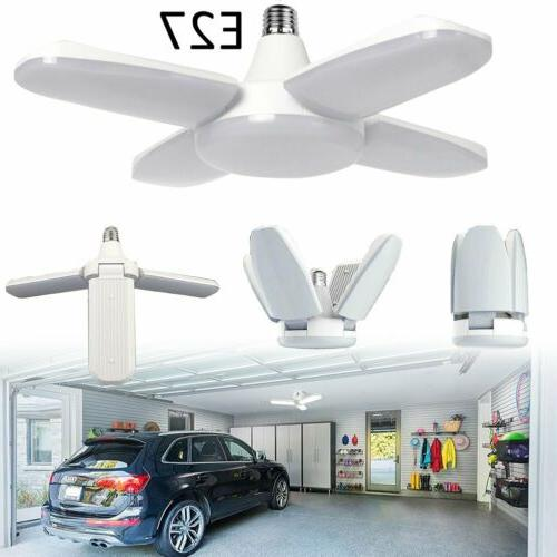 e27 deformable led garage light bulb ceiling