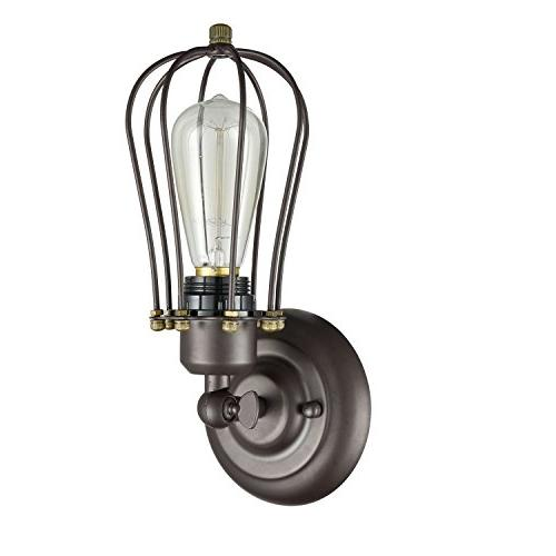 Ecopower Style Black Wall Sconce