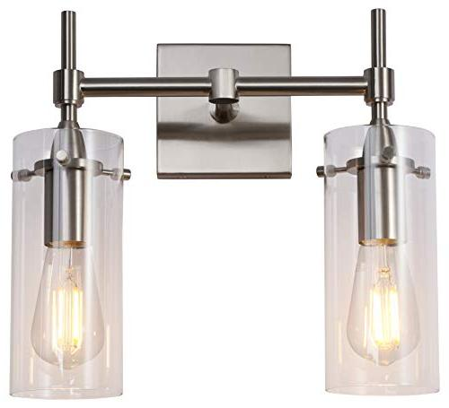 Effimero 2 Light Vanity Light | Nickel Hallway Wall LL-WL32-1BN
