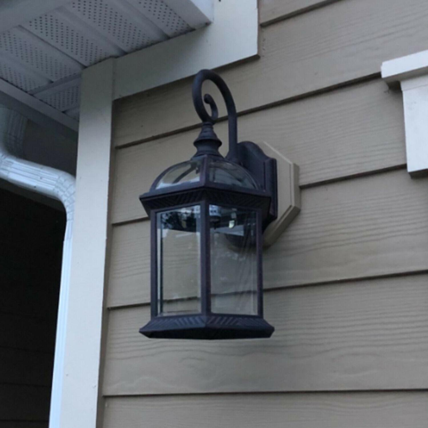 Front Lantern Wall Outdoor Lighting