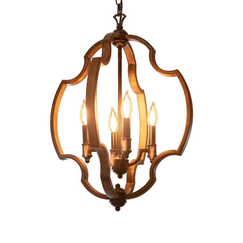 Hanging Light Fixture Rustic Pendant Farmhouse Metal Orb