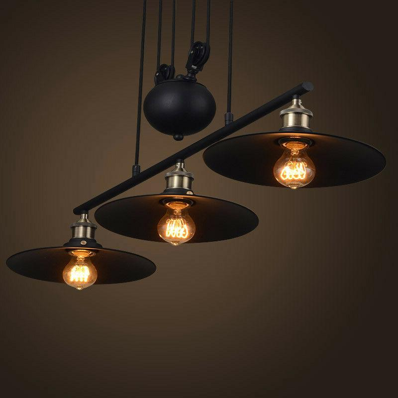 Industrial Pulley Light Island A
