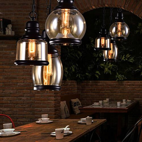 Industrial Hanging Retro Fixtures Cafe