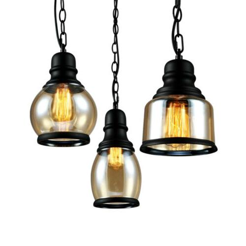 Industrial Pendant Hanging Retro Lamp Fixtures