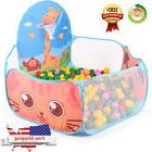Large Ball Tent Baby Toy Toddler Kids Boys Girls Ball Pit wi