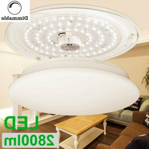 le round 24w led ceiling light modern