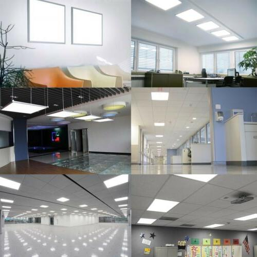 led 2x2 ft led panel light recessed