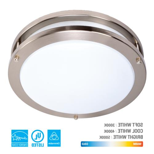 led ceiling flush mount round down light