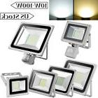 Led Flood Light 100W 50W 30W 20W 10W PIR Motion Sensor Outdo