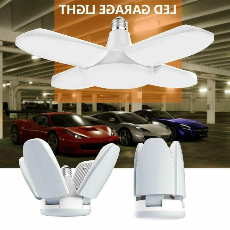 LED Garage Shop Work Lights 60W 5400lm E27 Home Ceiling Fixt