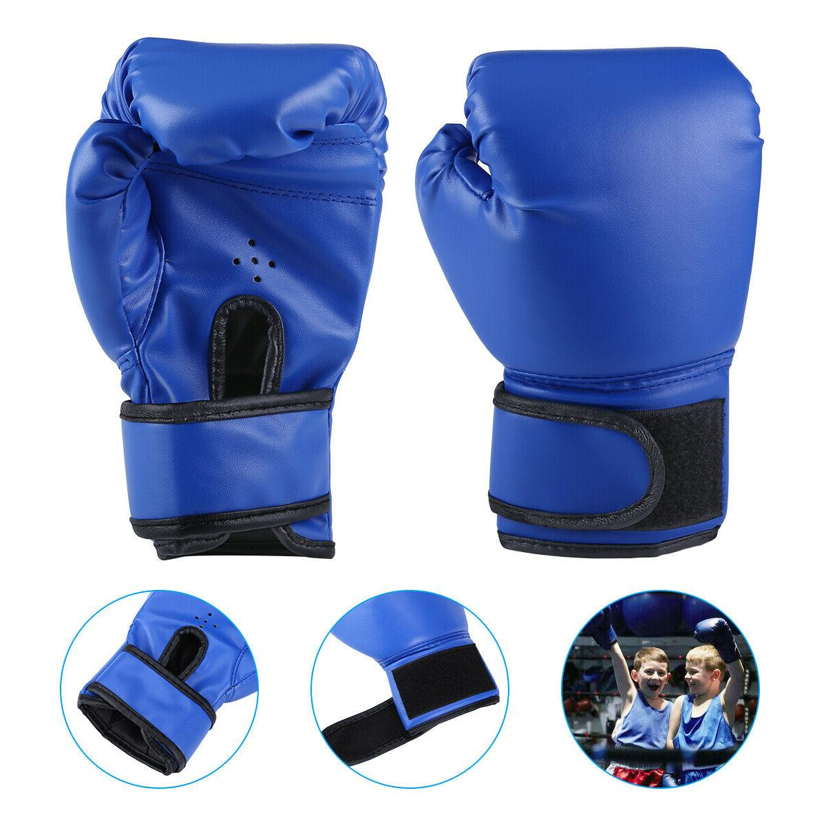 Boxing Gloves for Children Training Punching Kickboxing Age