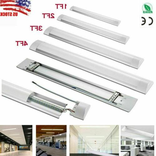 led linear batten tube light 1ft 2ft