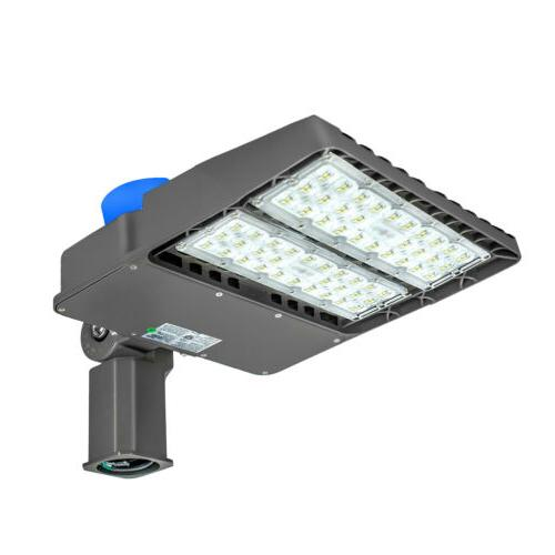 LED Lot Lights 200W 300W Pole fixture Shoebox Light