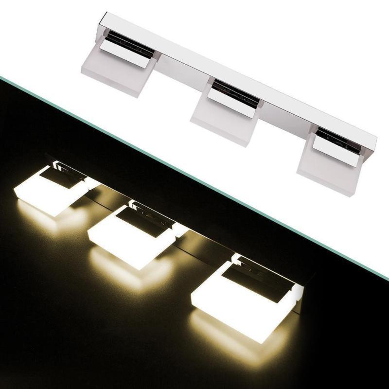 Modern Light Crystal Front Toilet Wall Lamp