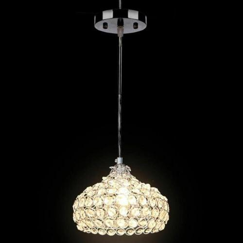 Modern Crystal Glass Ceiling Fixture Hanging