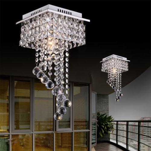 Modern Glass LED Ceiling Pendant Hanging Lamp