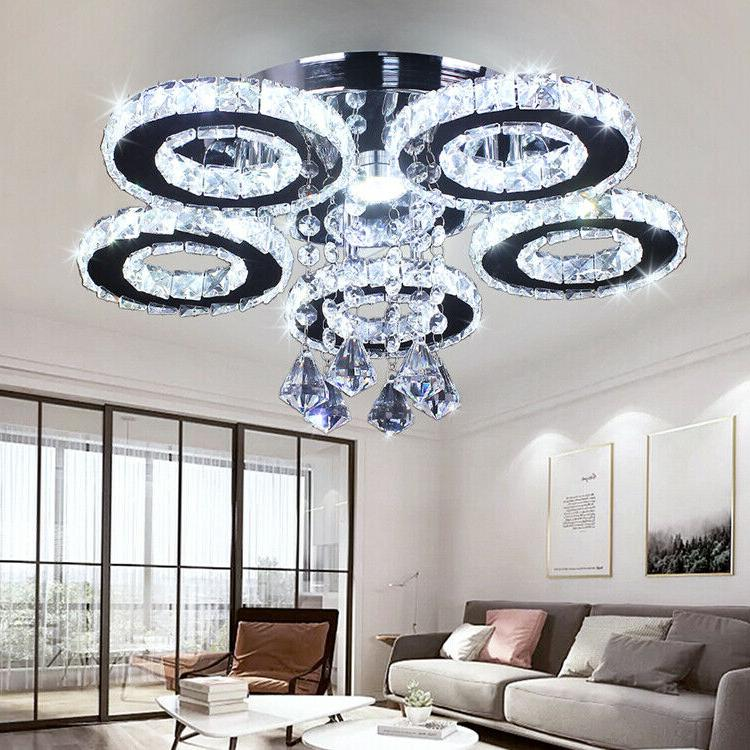 Modern 5 Rings Fixture Stainless