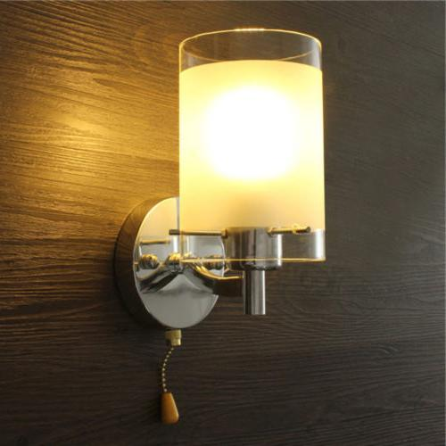 Modern Sconce Fixture Lamp Bedroom Home
