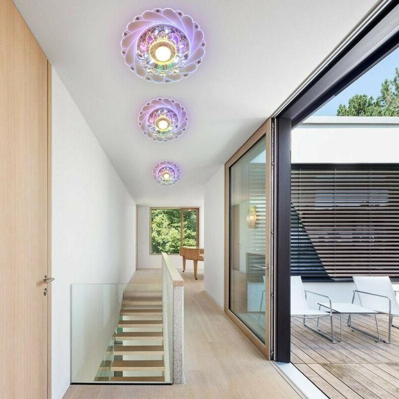 Modern Crystal LED Light Pendant Lamp