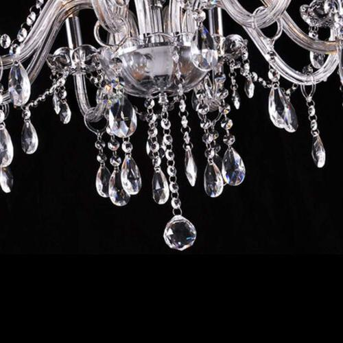Luxury Crystal Candle Fixture