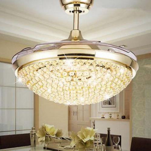 """Modern Invisible Ceiling Light 42"""" LED Chandelier Lamp Fixture"""