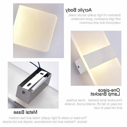 Modern LED Wall Up Down Outdoor Bedroom Sconce Fixture