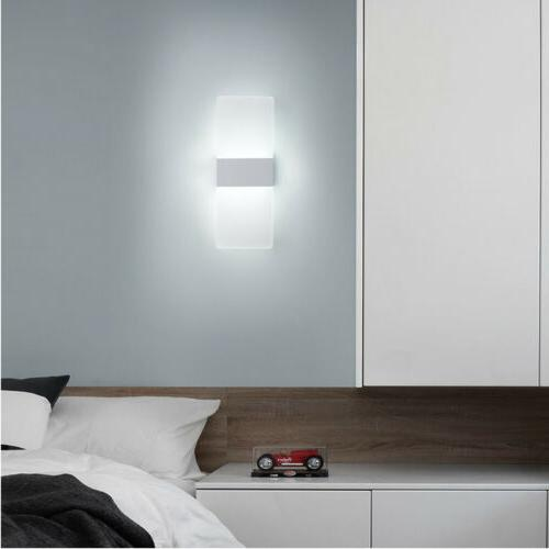 Modern LED Wall Lighting Up Down Outdoor Sconce Fixture