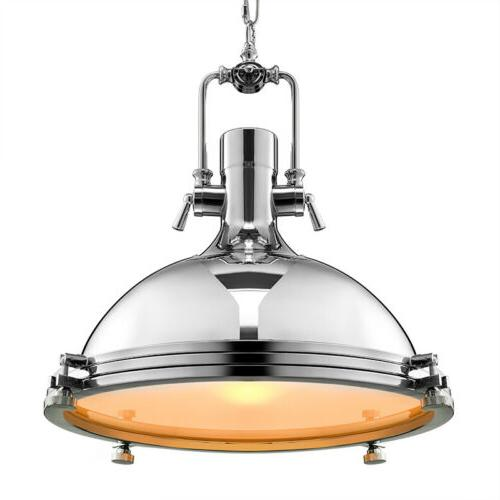 modern nautical pendant light fixture industrial polished