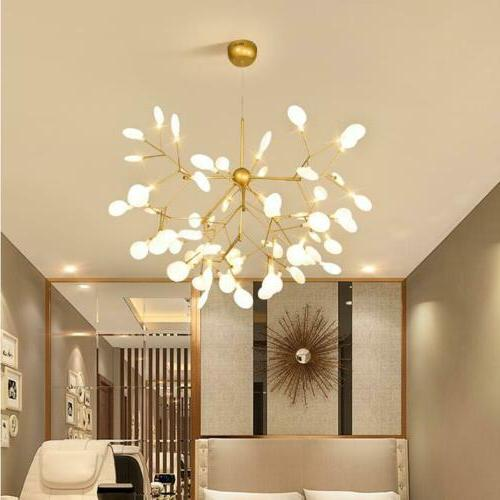 Modern Firefly Chandelier Pendant Lighting Ceiling Light Led