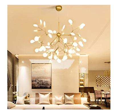 Modern Sputnik Pendant Lighting Fixture Light Led