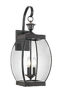 Quoizel Oasis Bronze Three-Light Outdoor Fixture - OAS8409Z