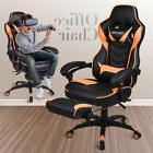 Office Gaming Chair Racing Computer Desk Seat Leather High B