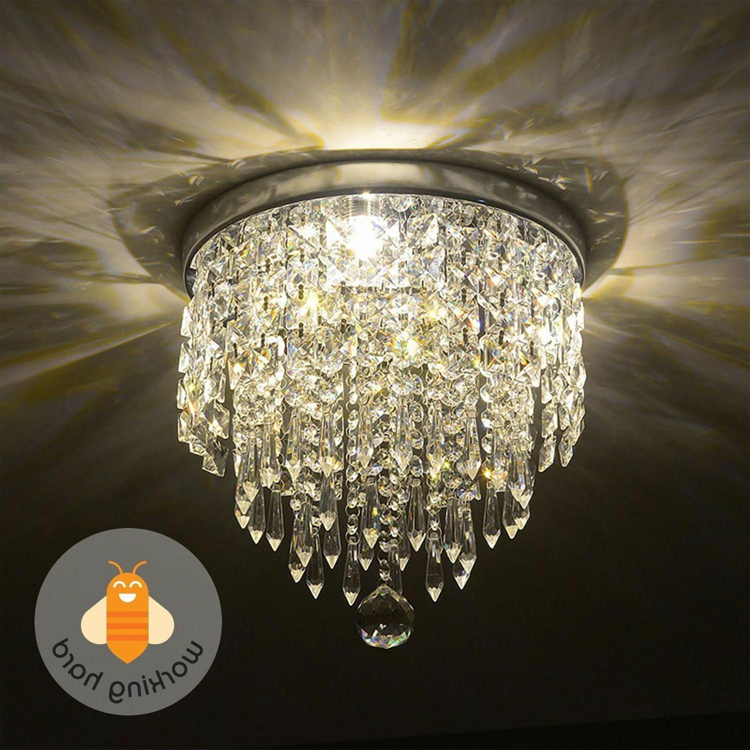 pendant ceiling lamp crystal ball