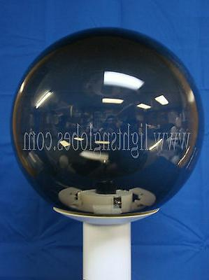 """Post Top Fixture 3"""" BLACK WHITE Lighting REPLACE"""