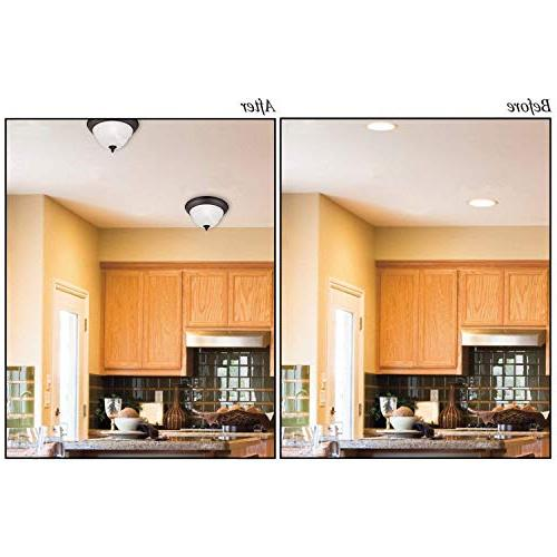 Recessed Light inch and Inch - Finished White