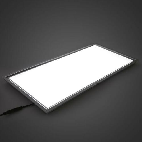 rectangle recessed flat led ceiling panel light