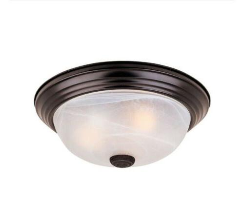 Designers Fountain Reedley Collection 2 Light Flush Ceiling
