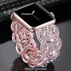 Rhinestone Diamond Bracelet Strap For Apple iwatch Bands Wom