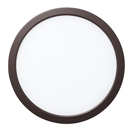 GetInLight Round Dimmable Flush Mount , 14 Watt, Finish, 3000K Soft 80W Replacement, Rated, Listed,