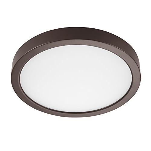 round dimmable flush mount ceiling
