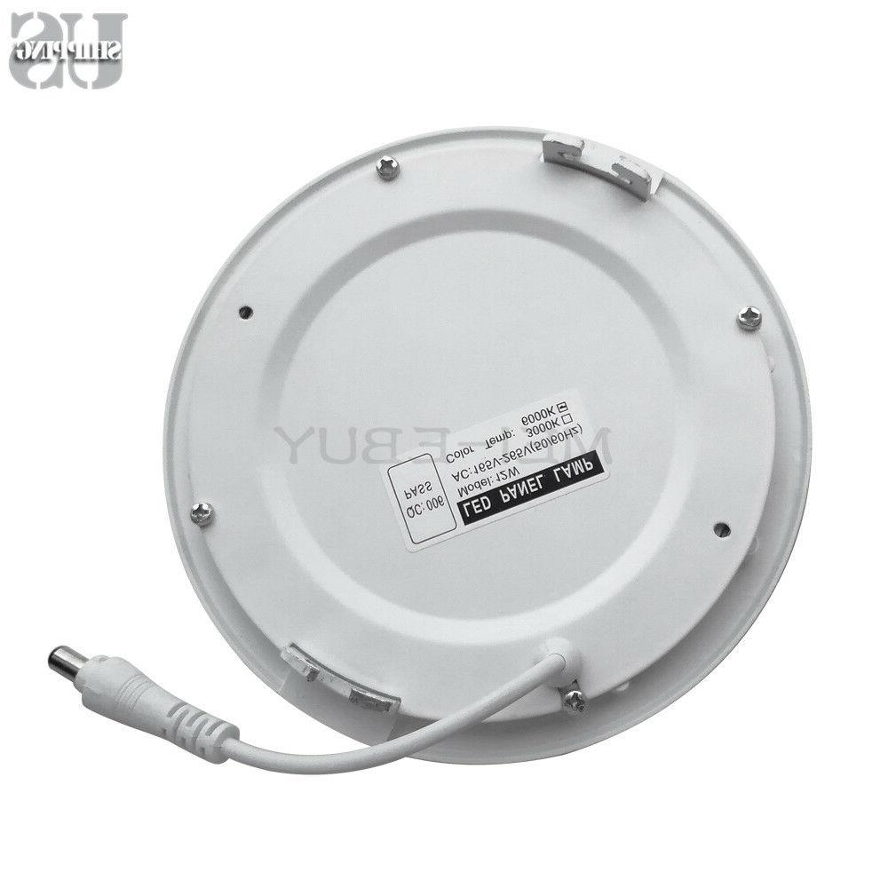 Round Recessed Ceiling Panel Down Fixture