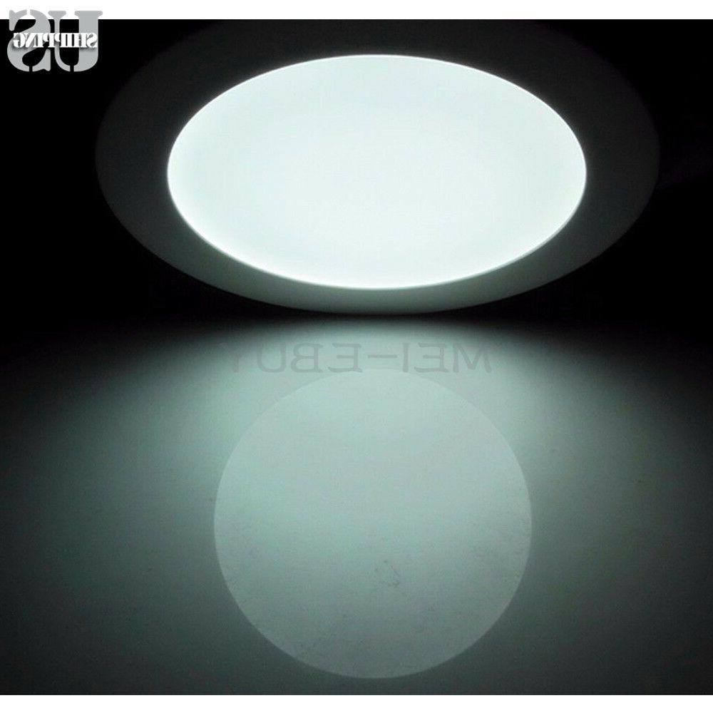 Round Recessed Ceiling Panel Light Down Light Lamp Bulb Fixture