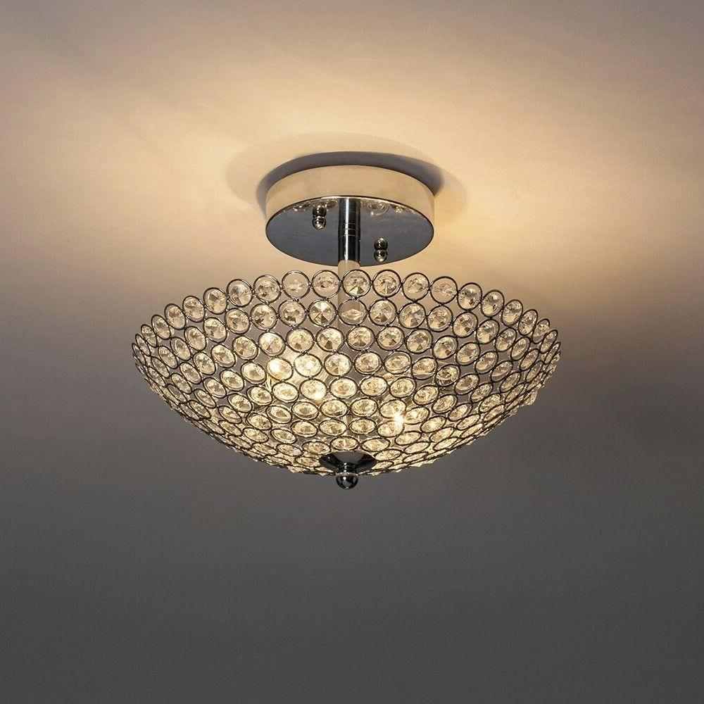 Light Modern Crystal Chandelier