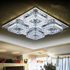 SquareCrystal LED Ceiling Lamp Modern Ceiling Light Living R