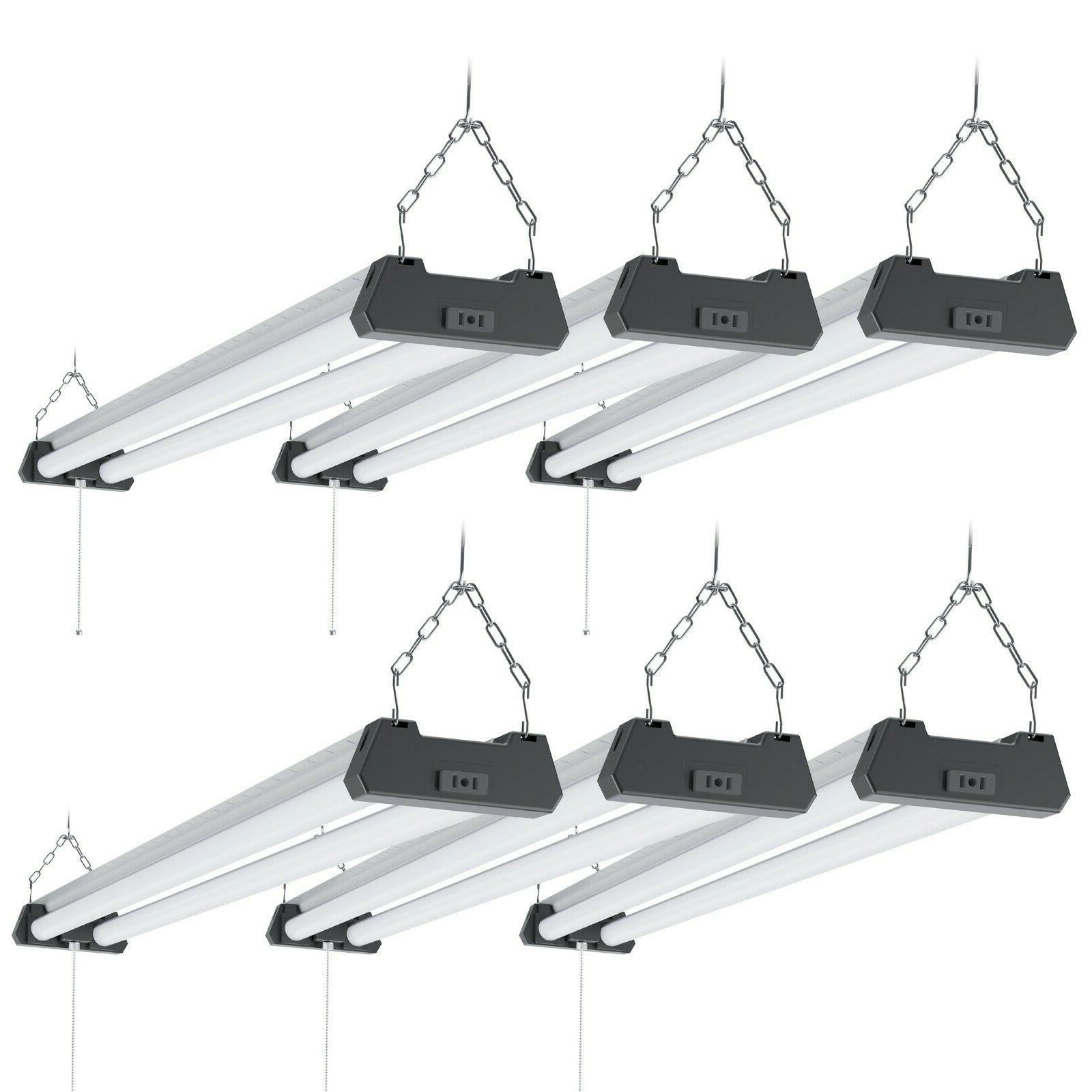 sunco 6 pack 4ft 40w led industrial